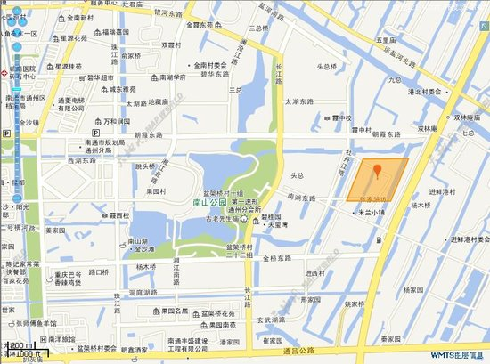 南通国土资源局挂牌公告信息显示,r2017-009地块位于南湖东路北侧
