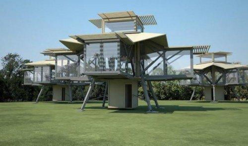 8分钟自动搭建完成 这款卖13万美元的房屋可真神