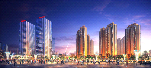 11月20日,港闸区区委书记沈红星陪同市领导再次视察南通万达广场
