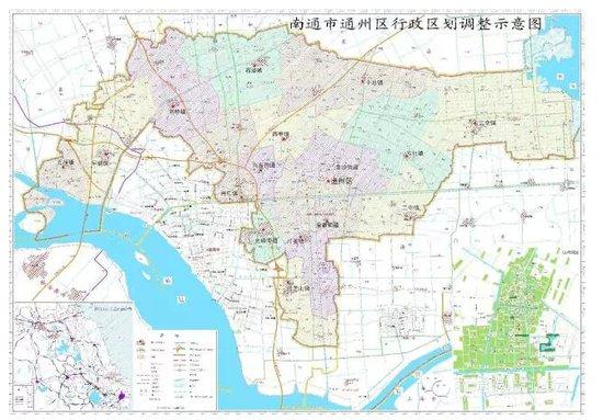 通州区部分行政区划调整_频道-南通_腾讯网