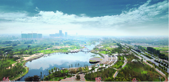 御龙湾依据如皋千年母亲河龙游河而建,于家中即可坐看龙游河绝妙美景