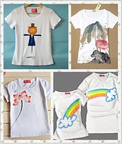 儿童手绘t恤图片大全