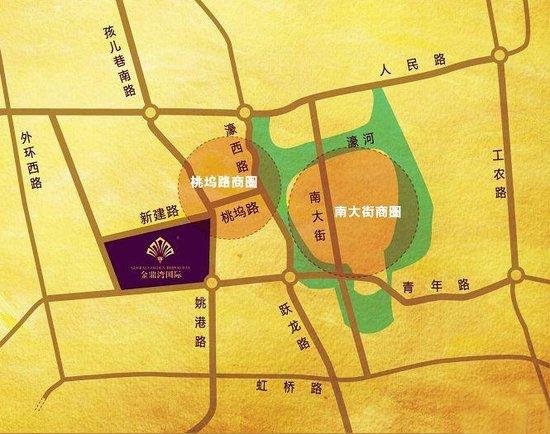 新建路南侧,工农河东,紧邻中共南通市委机关行政处,拟建成精装修高档