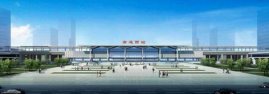 也是国家综合运输大通道上的车站,位于通州区平潮境内,距离新城区约19