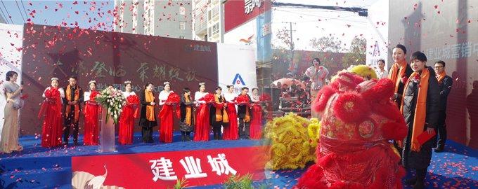 荣耀绽放,邓州建业城12.16营销中心盛大开放!