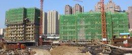 建业壹号城邦1月工程进度