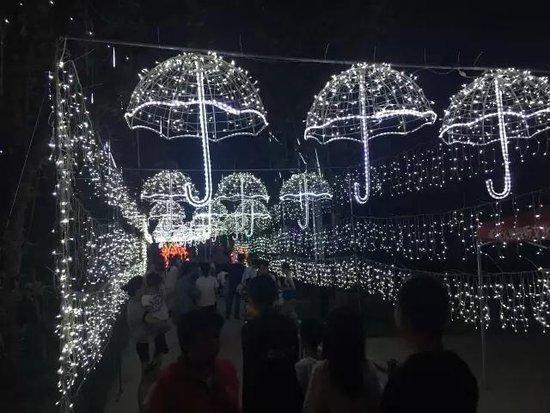 建业·壹号城邦国际灯光艺术展约上TA,一起遨游灯海吧!