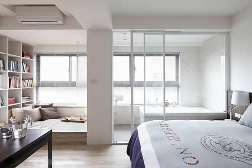 头次见卧室这么装,隔墙直接打通,两间变一间!