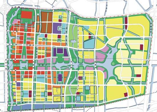 东部新城总规划图-宁波东部新城投资百亿 周边热盘推荐