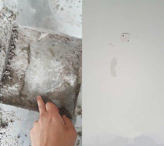 屋顶裂缝漏水怎么办_不少业主也纷纷表示他们的房子同样有墙壁渗水,屋顶漏水,地面裂缝等情
