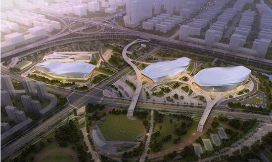 优惠 评盘 看房 在线购房 社区 数据 资讯 海外  宁波奥体中心,杭州图片