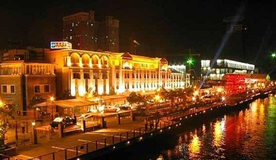 国际美食滨水美食街一铺难求绝对的唯一稀缺社区广场奥体万达沈阳图片