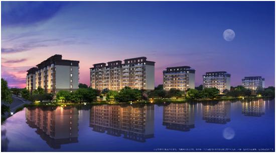 景瑞龙湖缇香郦城:别野当外观卖宁波这个v外观效果图小楼户型洋房排别墅图片