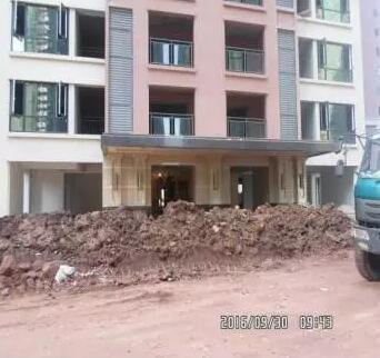 汉安天地2016年9月施工进度