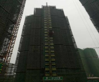 内江邦泰2月各项目工程进度