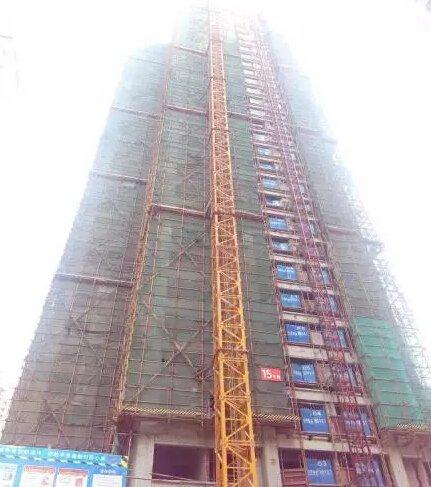 汉安天地2016年8月施工进度