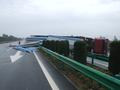 湖北汉十高速一抢险救灾车翻车 司机疲劳驾驶