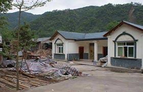 高清组图:安县晓坝镇震后一年映像