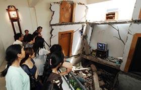 高清组图:汶川地震博物馆开馆