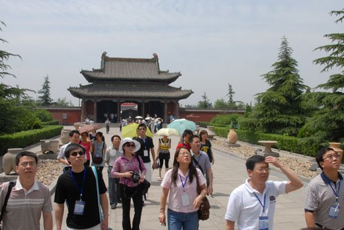 全国网络媒体记者团参访尧庙