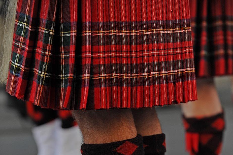 澳大利亚悉尼庆祝 苏格兰格子日
