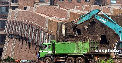 韩正:上海在建楼房倾倒是一起重大责任事故