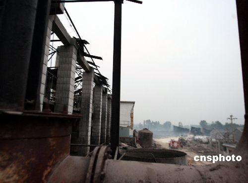 河南偃师化工厂爆炸事故续:张德江副总理做批示