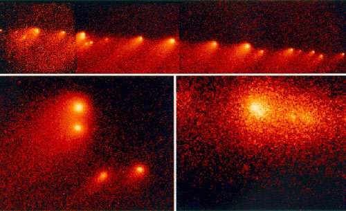 木星被不明天体撞击 形成地球大小黑斑(组图)