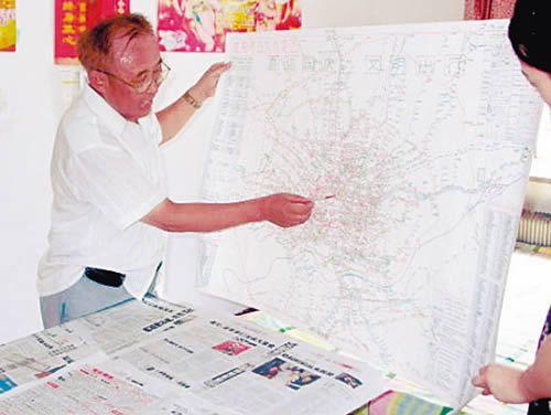 绘制公交线路图(图)