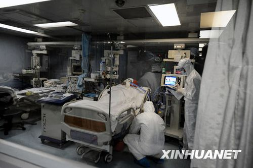 组图:广东一名中学生确诊甲流重症病例