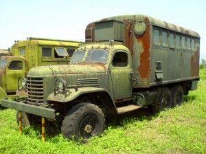 航空博物馆里的解放CA-30军用卡车-解放卡车溯源