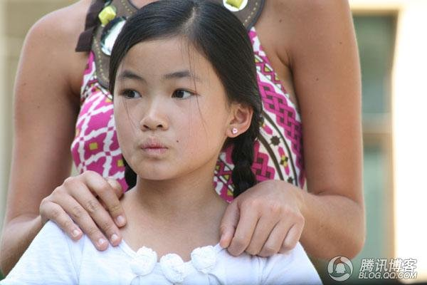 她父亲说:扬州是出美女的地方