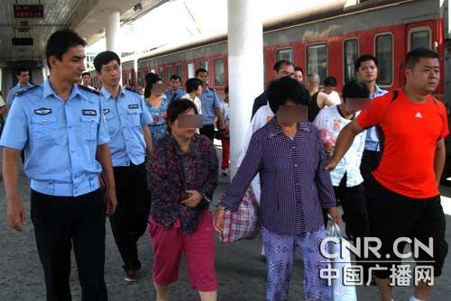 福州警方打击拐卖妇女儿童专项行动