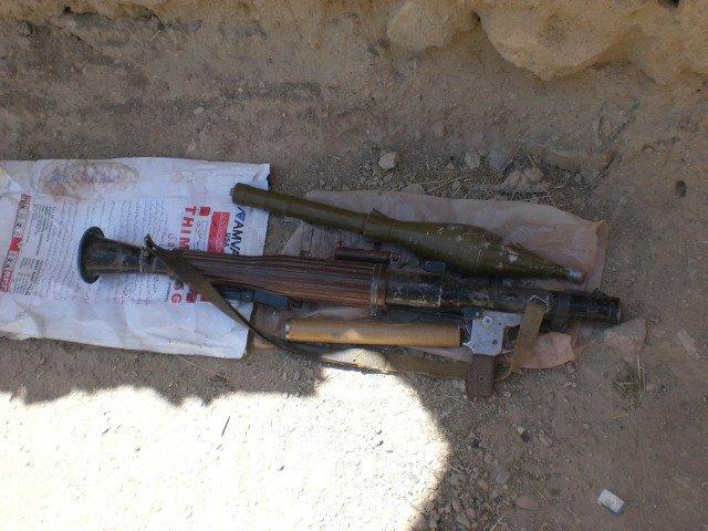 中国69式40mm火箭筒破甲弹亮相阿富汗