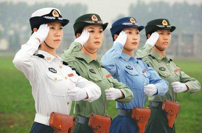 国庆阅兵女兵方阵曝光