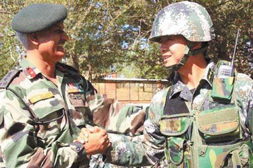 印度军方呵护中印边界和谐但不放松边境控制
