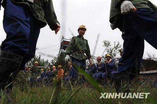 组图:河南平顶山新华四矿发生瓦斯爆炸事故