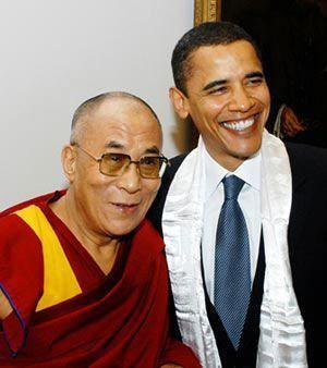 白宫人士称奥巴马将于访华后会见达赖_赵老师