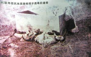 抗日英雄杨靖宇将军遇害照首次披露(图) - 反日·2009 - 中国网议