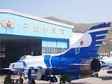 组图:国庆60周年表演机喷漆涂装任务完成