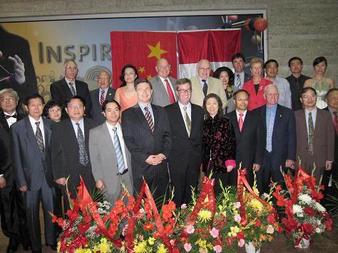 渥太华华人社团举行国庆60周年联欢晚会