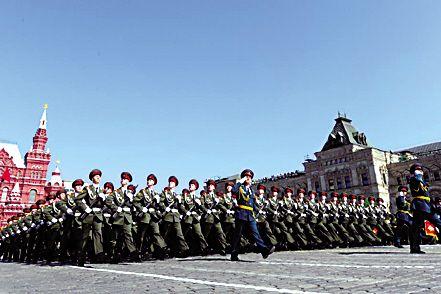 外国节日阅兵之最