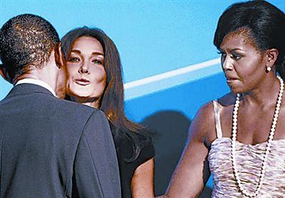 奥巴马夫妇3张尴尬照片成媒体爆炒焦点(组图)