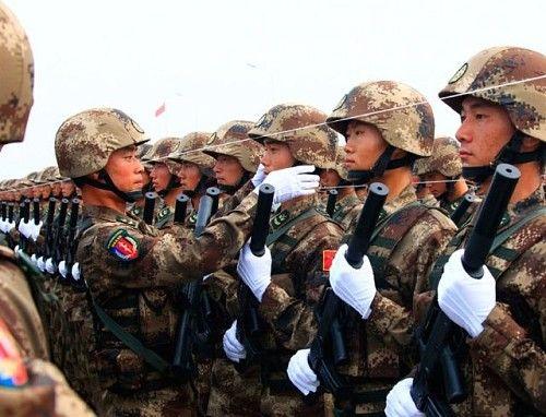陆军特种兵方队