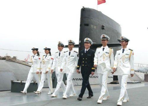海军07式春秋常服和礼服-海军学员方队图片