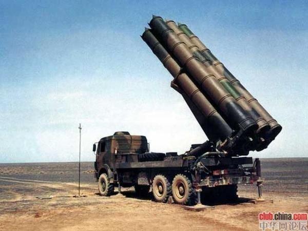卫士-2d(ws-2d)远程火箭炮_中国卫士2D远程火箭炮中华兵器大全中国武