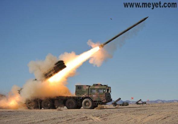 远程多火箭炮系统图_中国兵工5424厂研发wc232远程多管火箭系统图