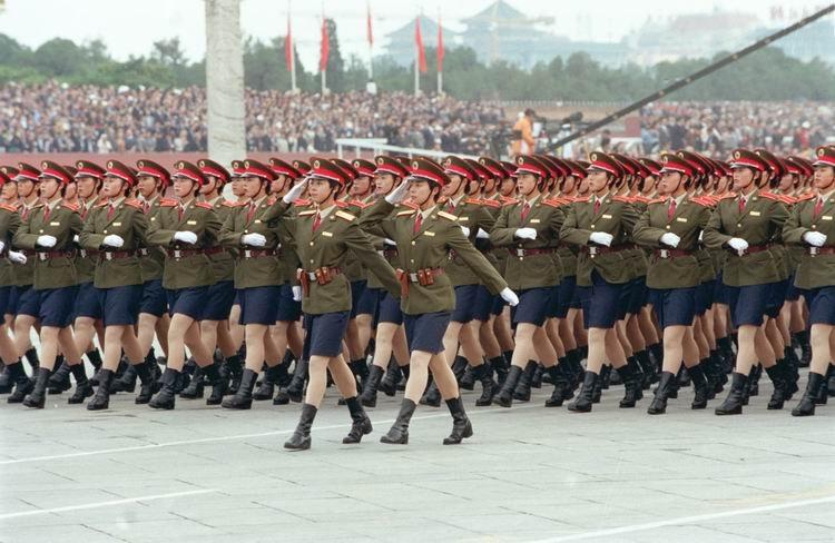 高清组图 1999,世纪大阅兵