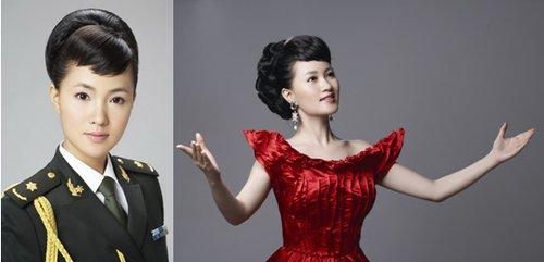 总政歌舞团美女雷佳60周年庆典献歌 领航中国