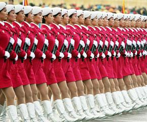 高清图:国庆阅兵——受阅部队陆续就位